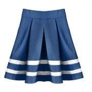 Skirt on white
