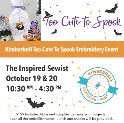 Too Cute To Spook Sewing Event