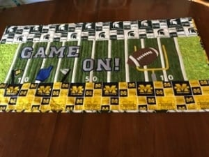 Game On Bench Pillow