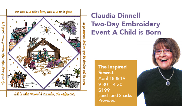 Claudia Dinnell – Two-Day Digitizing Event