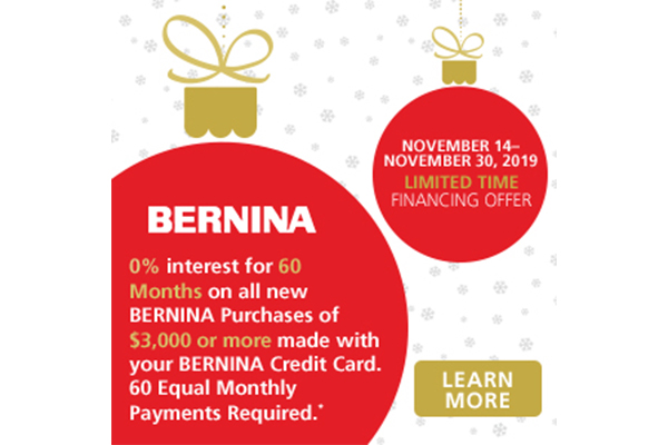 Bernina Financing