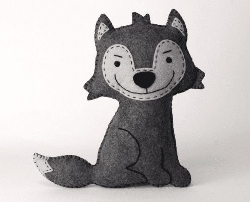 Big Bad Wolf Stuffed Animal