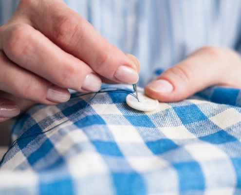 The Essential Skill: Button-Sewing