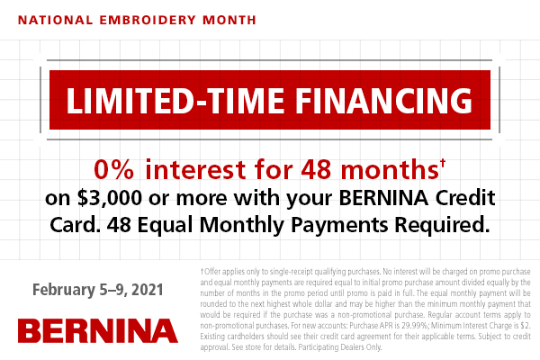 Limited-Time-Financing